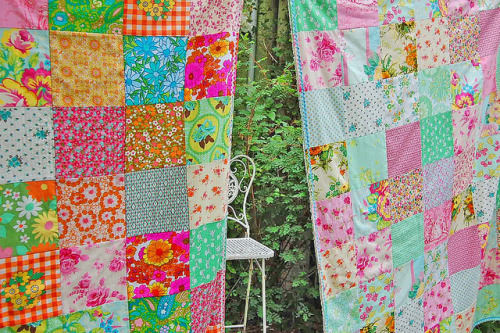 patchwork blankies… (by rose hip…)