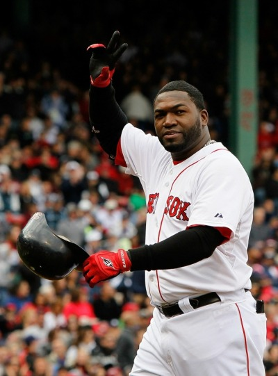 Farewell Papi? Fenway Park sends off David Ortiz with a standing ovation in the last game of the 2010 season. Will the Red Sox pick up Ortiz's 2011 option, resign, or let Papi go? Time will tell. Photo by Jim Rogash/Getty Images