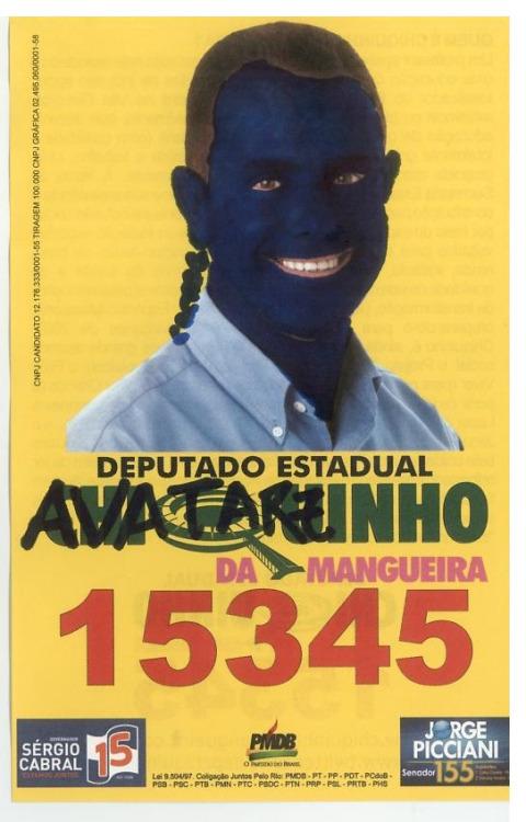 propaganda politica cartaz
