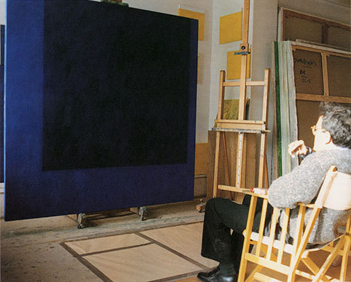 Mark Rothko's Studio