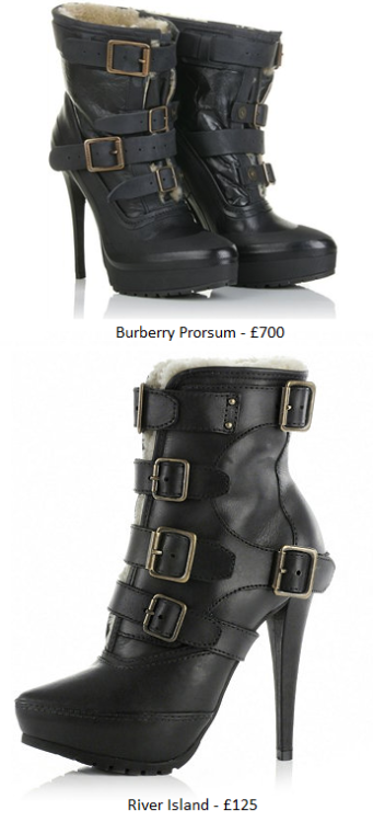 Burberry Prorsum Vs. River Island Look-A-Likes <3