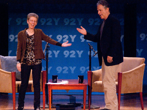Listen to Jon Stewart Interviewed by Terry Gross Two of my favorite people.