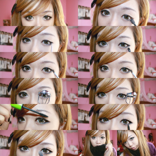 rocker eye makeup. Livia#39;s Eye Make Up Tutorial!