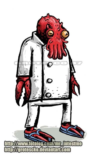 ZOIDBERG by ~grotescko on deviantART