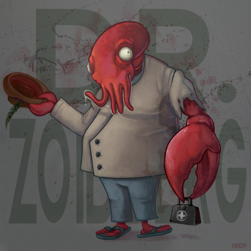 Dr. Zoidberg by ~BrokeJonez on deviantART