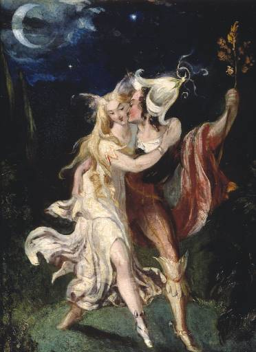 kebechet:  The Fairy Lovers - Theodor Von Holst