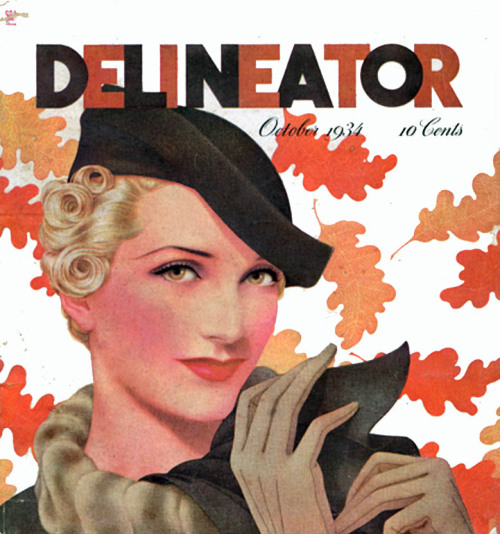 "The wonderfully named ""Delineator"" magazine, Oct 1934"