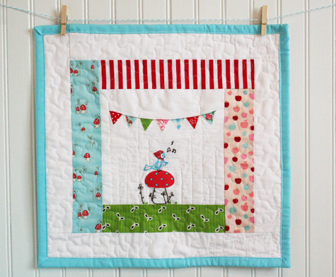 little buntings on little quilts - alittlesweetness