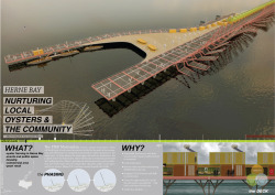 Herne bay pier competition__board 001. \ © john pritchard & Joao Gameiro Neves