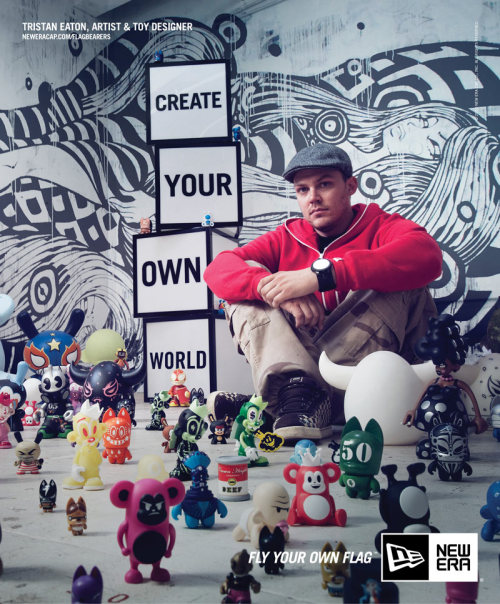 @tristaneaton featured in this awesome New Era ad!