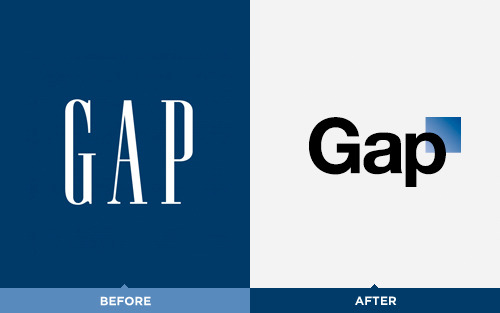 "The Gap logo redesign Gap Clothing stores has unveiled a new logo mark on their website this week. The new logo in sans serif Helvetica treatment is so removed from the iconic brand aesthetic of the past years. We were surprised to see such a drastic makeover. Perhaps the new design is trying to be a little reminiscent of the store's logo from 1969? It would've been cool if the Gap brought back their retro roots and fully revived the old logo. Below is signage from the first Gap store which opened in the year 1969 in San Francisco.  Does anyone know the design firm behind the brand new logo? A quick Google search wasn't too helpful this time around. If you have any additional knowledge behind the new approach or the brand's design history we appreciate your notes. update 10/6: We received a couple tips that Laird + Partners is the creative agency behind the Gap logo redesign, but this was not 100% clear based on the info on their company website. update 10/7: The site IDSGN reports that as follow-up to the Gap logo redesign online saga, the Gap has released a statement on their Facebook indicating their plans to crowdsource a new logo.  ""Thanks for everyone's input on the new logo! We've had the same logo for 20+ years, and this is just one of the things we're changing. We know this logo created a lot of buzz and we're thrilled to see passionate debates unfolding! So much so we're asking you to share your designs. We love our version, but we'd like to see other ideas. Stay tuned for details in the next few days on this crowd sourcing project."" —via The Gap on Facebook  Is this the outcome all of the haters were looking for? What implications does this scenario, along with the Tropicana fiasco last year, have for graphic design professionals?"