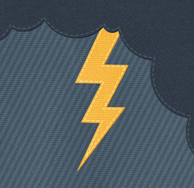 zaraillustrates:  Thunderbolts and lightning, very very frightening!