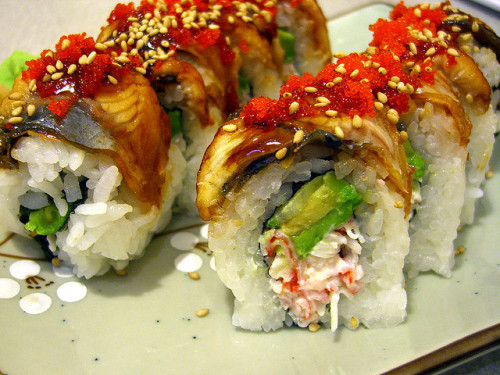 shelovesasianfood:  Unagi Lover Roll
