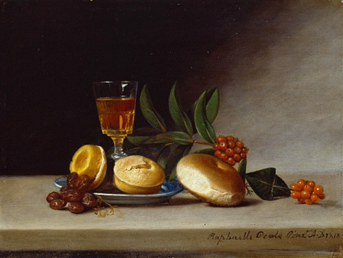 Raphaelle Peale Still Life with Wine Glass 1818