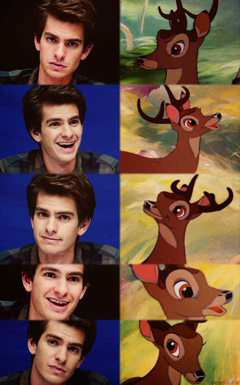 Andrew Garfield's Familiar Face | EpicPonyz I knew he looked familiar.