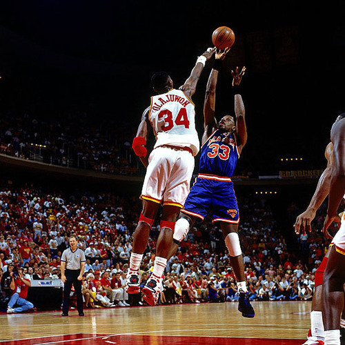 The guys at FreeDarko asked me to write something about Hakeem Olajuwon for their fantastic Dream Week project, and of course, I jumped at the chance. My submission, on how Hakeem destroyed Patrick Ewing and David Robinson in the 1994 and 1995 postseasons (and how those victories changed the way we looked at the other two best centers of Hakeem's era), went live this morning. I'd love it if you gave it a read, and I'd really love it if you supported the brilliant work that FD does by pre-ordering their Undisputed Guide to Pro Basketball History, which hits the market on Oct. 26. Feedback on the piece, as always, is encouraged and appreciated.