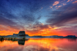 Lake Powell, Utah by Wolfgang Staudt