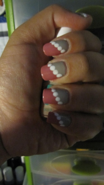 nailcrazy:  It's not the best lighting but these are my nails right now :-]