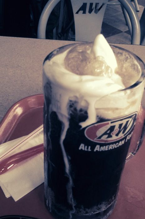A&W Root Beer float, I would travel to Jakarta just for you.