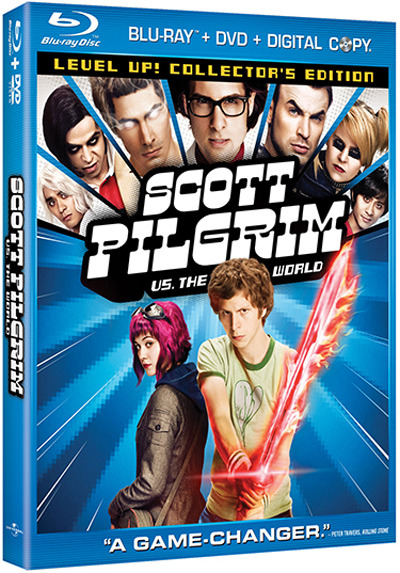 Scott Pilgrim Vs. The World Will Get A New Cover for DVD/BLU Ray Launch … Will It Help? | ONTD, Hit Fix Comes out Nov. 9th.