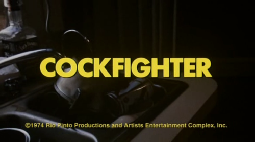 Cockfighter Dir: Monte Hellman imdb