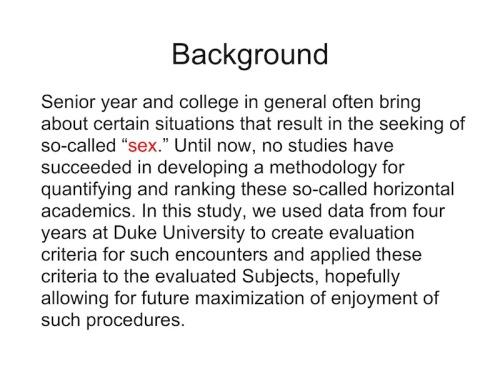 list Duke university sex