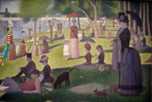 Georges Seurat - A Sunday Afternoon on the Island of La Grande Jatte Found by Anya Garrett