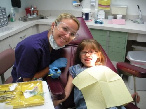 "GPOY- Pediatric Dentistry Edition I've started working as a dental hygienist with children last week. It's been a unique experience and can be so much fun. Kids are so intelligent and funny, they really do say the darnedest things. I had one 9 year old girl today that when asked if she wanted a new floss holder, she said ""No, I'll keep the one I have. It's served me well this far."" I couldn't help but crack up."