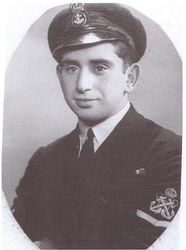 Petty Officer Basil Woolf. Posted by Cold is the Sea.