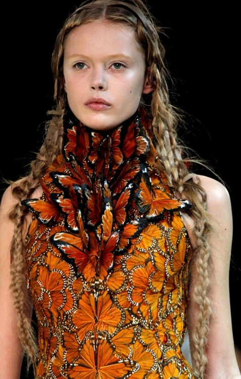 McQueen lives on. (Image via Fashionising)