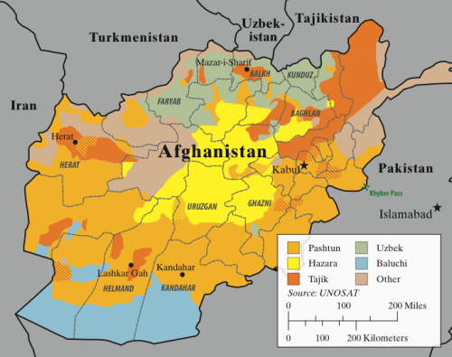 "nybooks:  Should Afghanistan Exist? Christopher de Bellaigue Here is a map of Afghanistan. Versions of it adorn conference rooms in military bases, ministry buildings and NGO headquarters. The first question it raises is: ""Why does Afghanistan exist?"" The country contains about a dozen ethnic groups, whose distribution is shown here in simplified form. There is no coast to attract people and trade. One should also bear in mind Afghanistan's tribal divisions, particularly within the Pashtun ethnic group, which is split into numerous clans and smaller descent groups. These are too complex for a cartographer to suggest. Image: An approximate map, based on UNOSAT data, of Afghanistan's major ethnolinguistic groups; striations indicate mixed areas (map by Mike King)  For totally different reasons, The Smart Set also questions whether or not Belgium should exist."