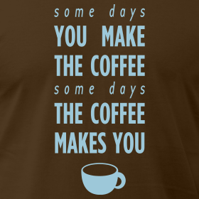 yummyvegan:  my complicated relationship with coffee.  yeah! I know what you mean.