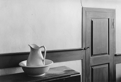 George Tice Shaker Interior, Sabbathday Lake, Maine  1971