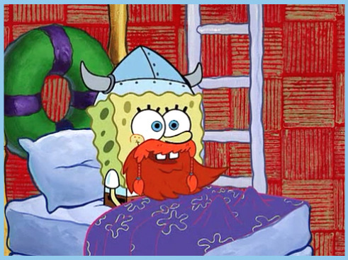 stripedsweater:  Hey everybody! It's Leif Erikson Day! Hinga Dinga Durgen!