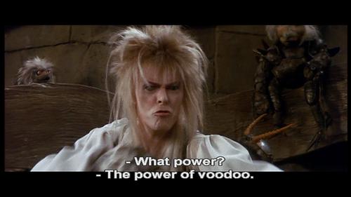 Voodoo. who do? you do!  ( reblogged just for @aswarren ).