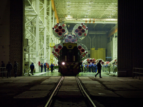 Expedition 25 Soyuz Rollout (201010050002HQ) (by nasa hq photo)