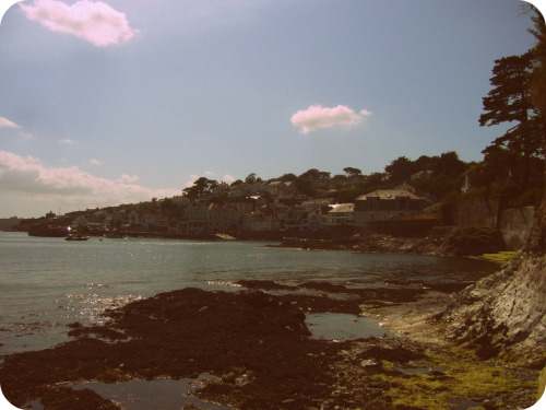 Cornwall in the summer.