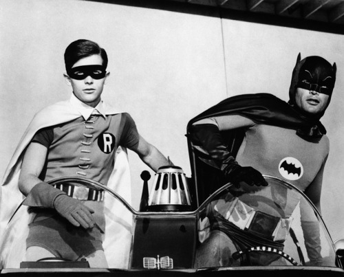 Burt Ward & Adam West