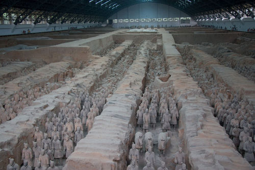 Chinese Terracotta Army, Qin Dynasty