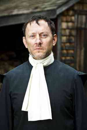 Michael Emerson as John Winthrop (governor of the Massachusetts Bay Colony) in the PBS mini-series God in America, premiering Monday, October 11.