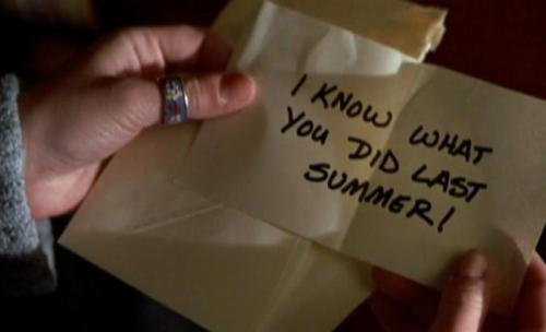 horrormoviefreak:  I Know What You Did Last Summer, 1997.
