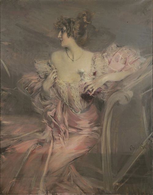 edwardianera:  Portait de Madame de Florian by Giovanni Boldini