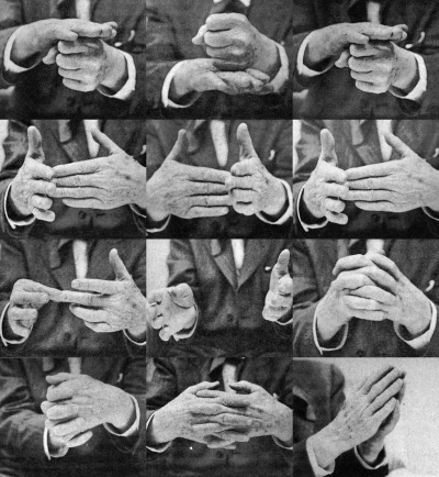 archiveofaffinities:  Frank Lloyd Wright Hands, From The Future of Architecture by Frank Lloyd Wright