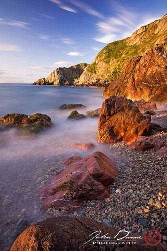 "Sunrise upon the Rocks -€"" Howth, Dublin, Ireland"
