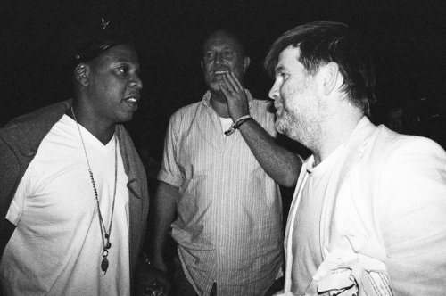 James Murphy (LCD Soundsystem) meets Jay-Z.