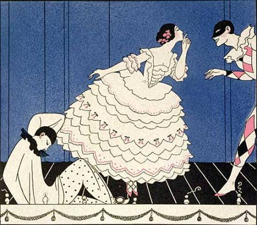 George Barbier 1914     (Via Kunst Fur Alle)