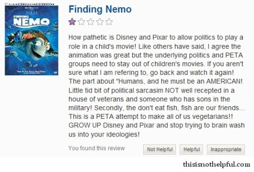 Finding Nemo (submission from Brian H.)