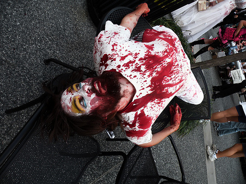 Pittsburgh once again hosted a Zombie Walk for World Zombie Day.  Of course, there are pictures.  More to come as they are edited!