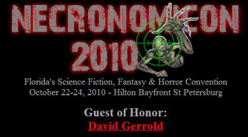 "tampasteampunk:  Necronomicon 2010- Florida's Science Fiction, Fantasy and Horror Convention Aside from just being a wickedly cool event, Necro 2010 will hold many events to lure Tampa Bay area steampunks, including costume contests and an enticing panel: ""The Steampunk Stealth Telescope: A Practical Demonstration""- 5 p.m., Saturday, October 23. Noooo idea what this entails but it's intriguing. I'm certainly attending. Visit the official website at http://www.stonehill.org/necro.htm"