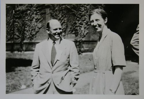 "Photo Caption: WVD Hodge and ML Cartwright (1950) ""Bill Hodge (later Sir William) did  algebraic geometry; there is something called a Hodge variety. His book with  Pedoe was a large and difficult step forward when it came out."" — Paul R.  Halmos, I Have a  Photographic Memory William  Vallance Douglas Hodge was a Scottish mathematician, specifically a geometer. ""Hodge  returned to Cambridge in 1932. He was appointed as a university lecturer in the  following year and, in 1935, was elected to a fellowship at Pembroke College,  Cambridge. During this period he developed the relationship between geometry,  analysis and topology and  produced some of his best remembered work on the theory of harmonic integrals.  For these contributions Hodge won the Adams Prize in 1937 and Weyl described this contribution as '… one of the great landmarks in the  history of science in the present century.' Hodge  published a polished account of his important theory in 1941. This work marked  an important change in direction for the Cambridge school of geometry which,  under Baker's leadership, had become somewhat isolated from other areas of  mathematics."" Read More William Vallance Douglas Hodge  Biography William Valance Douglas Hodge  Obituary by M.F. Atiyah Related entry: Dame Mary Cartwright"
